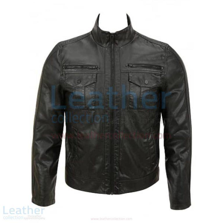Semi Fashion Moto Leather Jacket –  Jacket