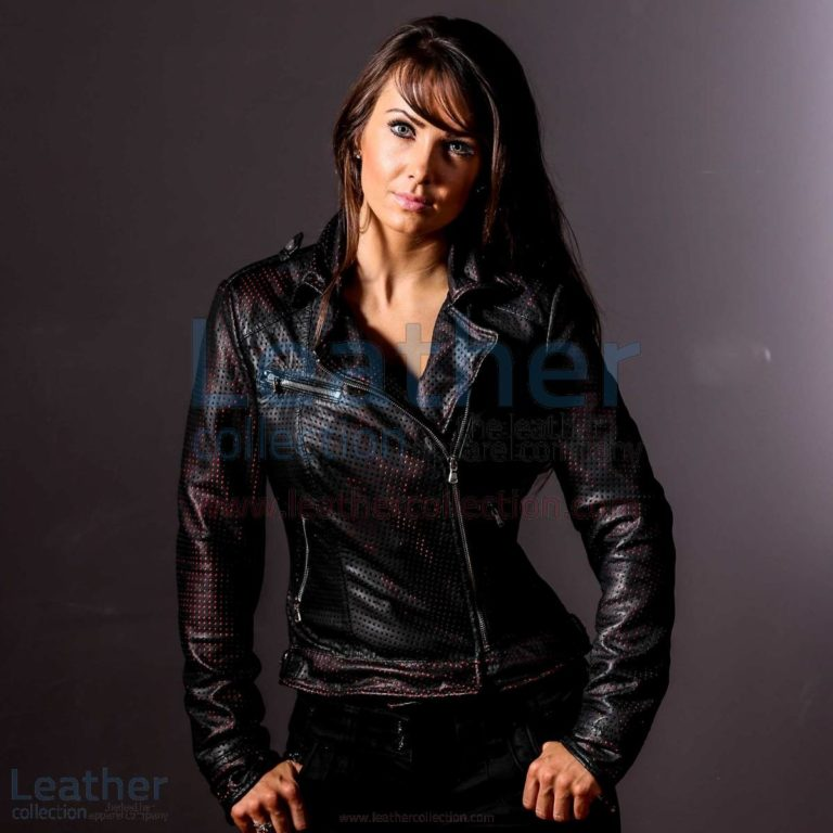 She Devil Leather Bomber Jacket Women –  Jacket