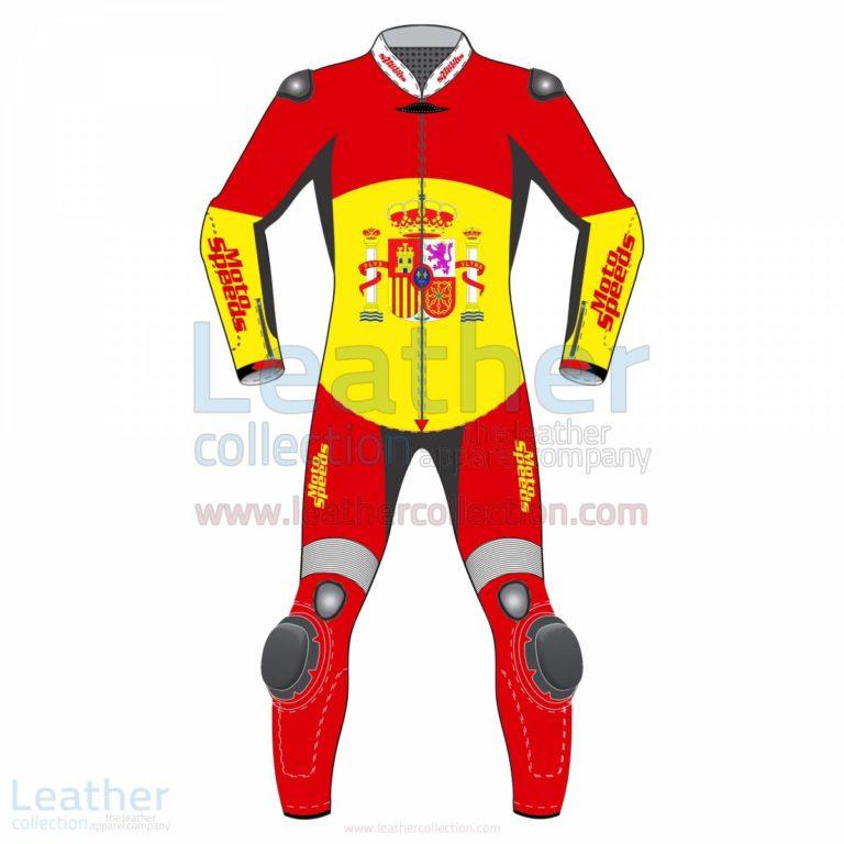 Spain Rounded Flag Race Suit –  Suit