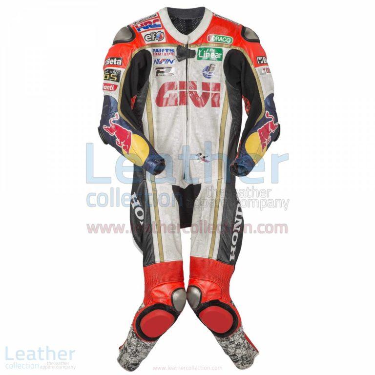 Stefan Bradl Honda 2013 Leather Suit – Honda Suit