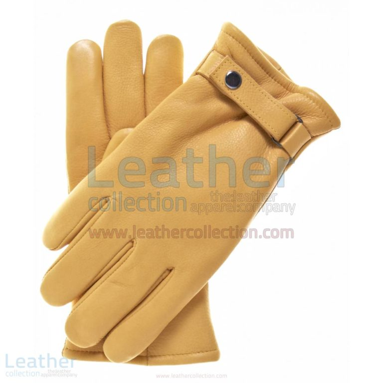 Tough Leather Gloves with Thinsulate Lining –  Gloves