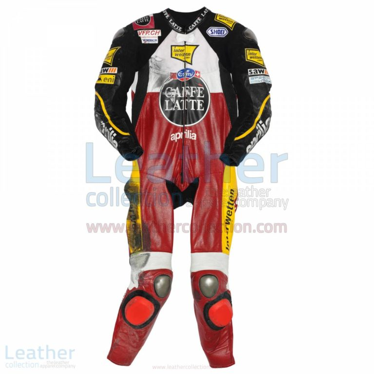 Thomas Luthi Aprilia GP 2009 Leather Suit – Aprilia Suit