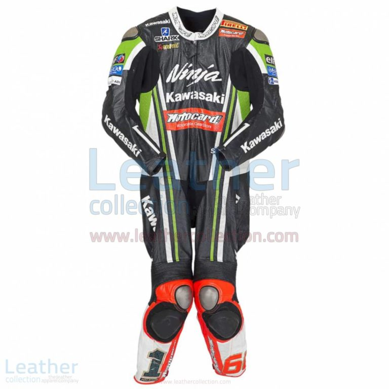 Tom Sykes Kawasaki 2014 Motorcycle Suit – Kawasaki Suit