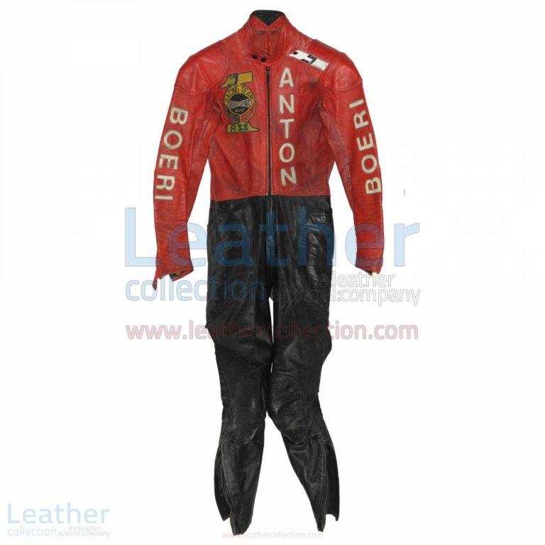 Toni Mang Kawasaki GP 1980 Racing Suit – Kawasaki Suit