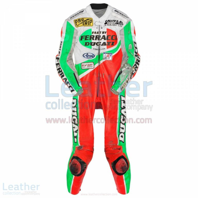 Troy Corser Ducati AMA 1994 Leather Suit – Ducati Suit