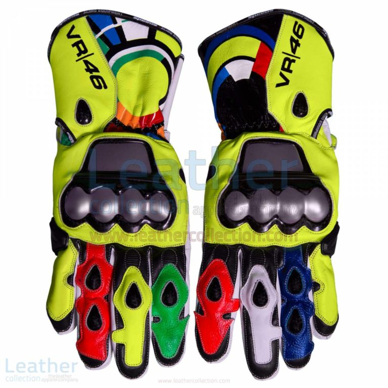 Valentino Rossi 2012 Leather Racing Gloves – Ducati Gloves
