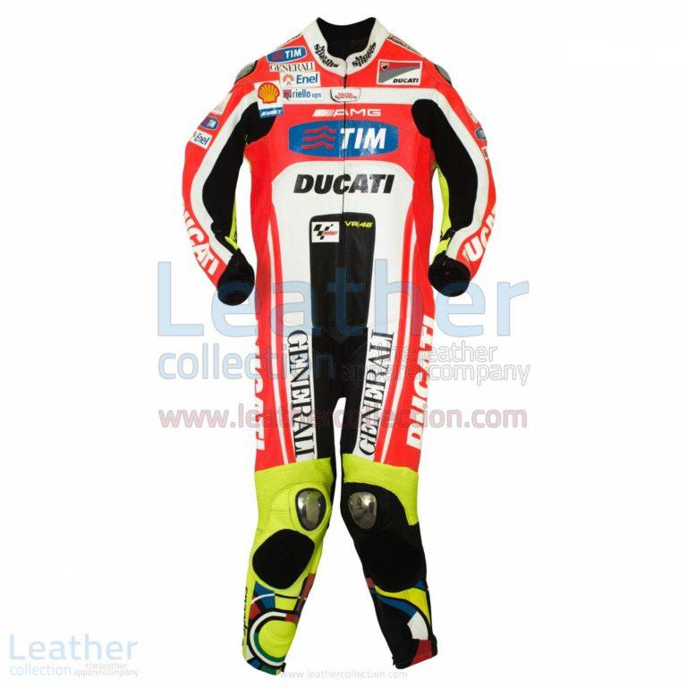 Valentino Rossi Ducati MotoGP 2011 Leathers – Ducati Suit