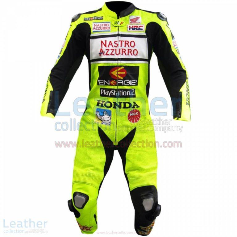Valentino Rossi Nastro Azzurro Honda MotoGP Leathers – Honda Suit