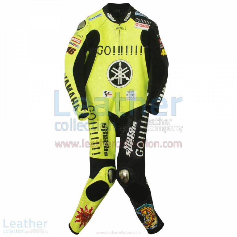 Valentino Rossi Winter Test Yamaha MotoGP 2005 Suit – Yamaha Suit
