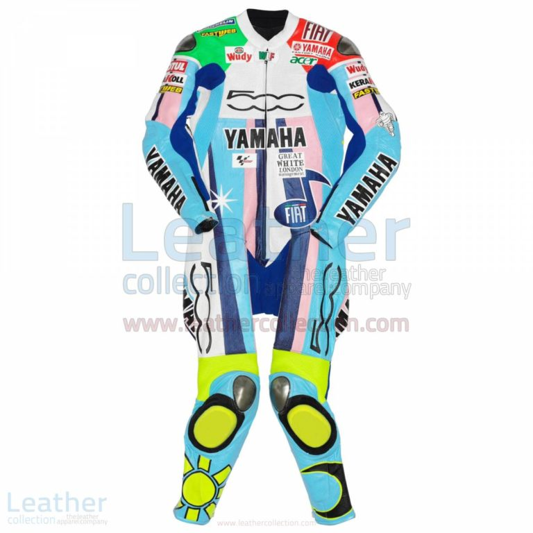 Valentino Rossi Yamaha Fiat 500 MotoGP 2007 Suit – Yamaha Suit
