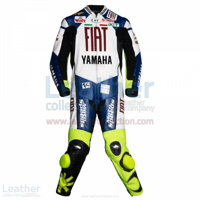 Valentino Rossi Yamaha Fiat MotoGP 2007 Leathers – Yamaha Suit