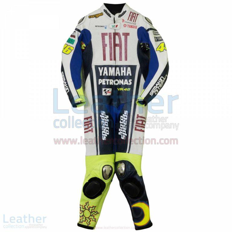 Valentino Rossi Yamaha Fiat MotoGP 2010 Race Suit – Yamaha Suit