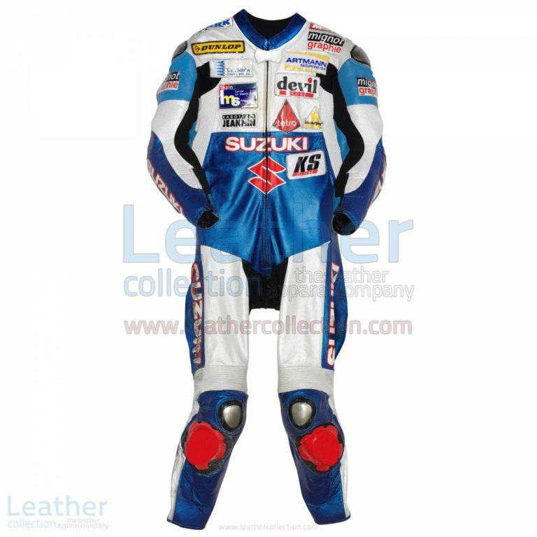 Vincent Philippe Suzuki 2008 Leathers – Suzuki Suit