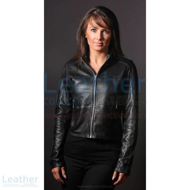 Women LeatherFashion Steel Jacket –  Jacket