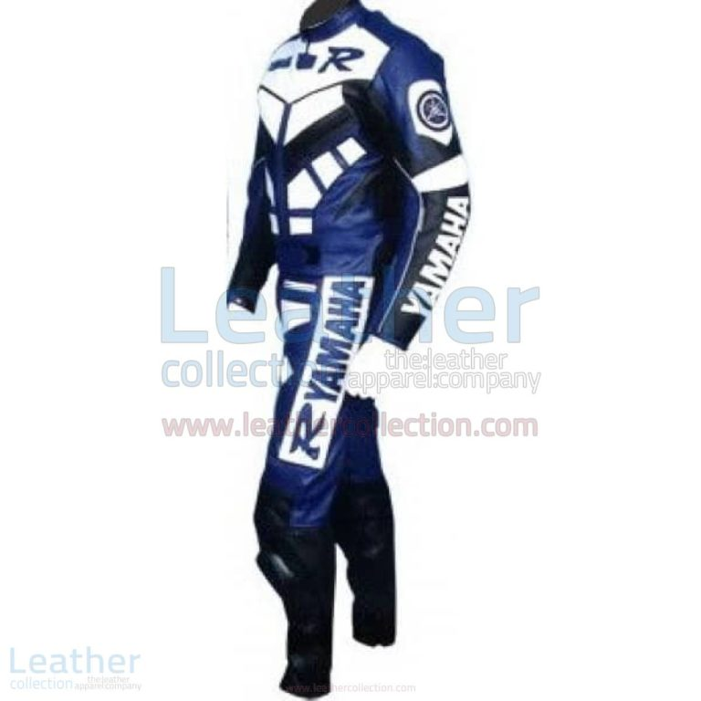 Yamaha R Racing Leather Suit Blue – Yamaha Suit