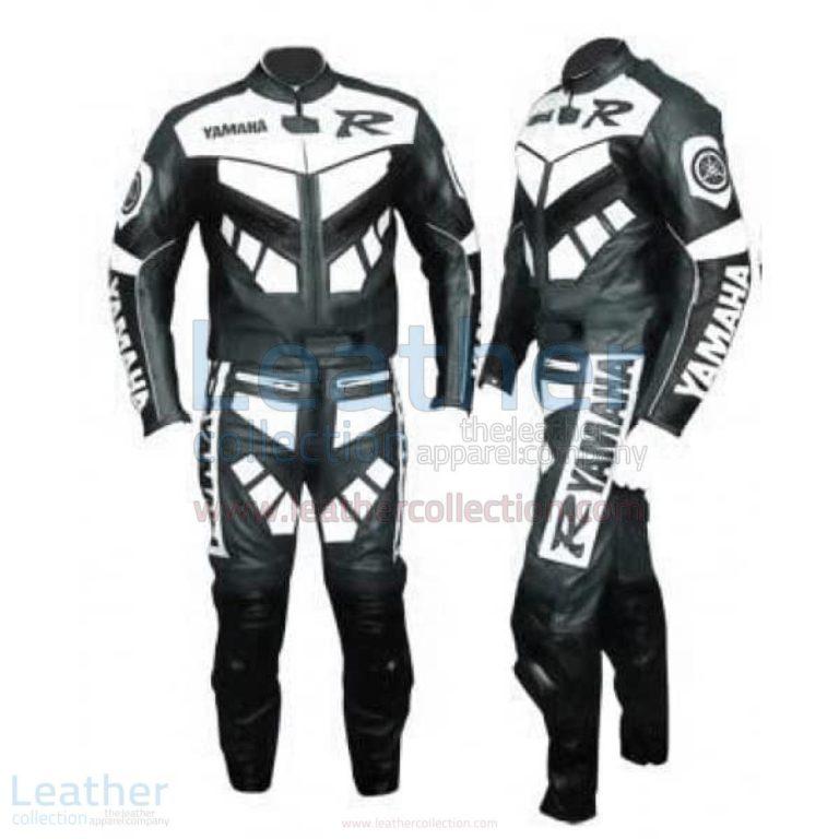 Yamaha R Racing Leather Suit Gun Metal – Yamaha Suit