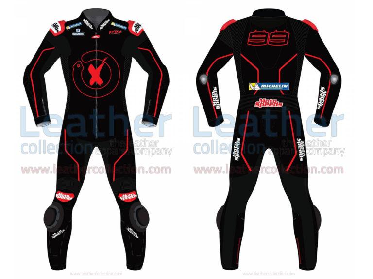JORGE LORENZO JEREZ TEST 2018 MOTORCYCLE SUIT