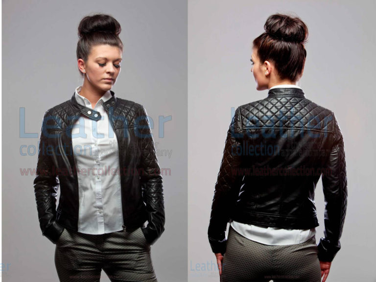 LITTLE MISS LEATHER JACKET FOR WOMEN