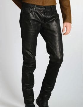 Mens Leather Pants for Men