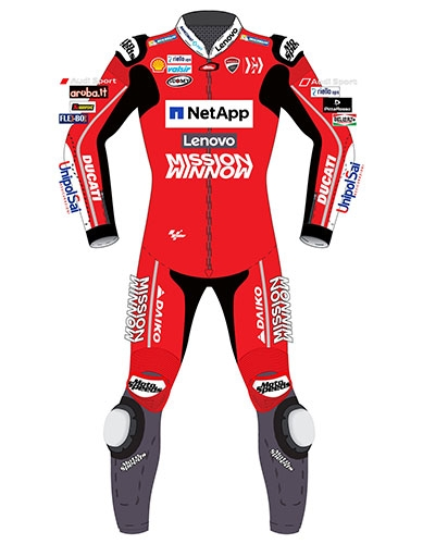 MotoGP 2019 motorcycle racing suit