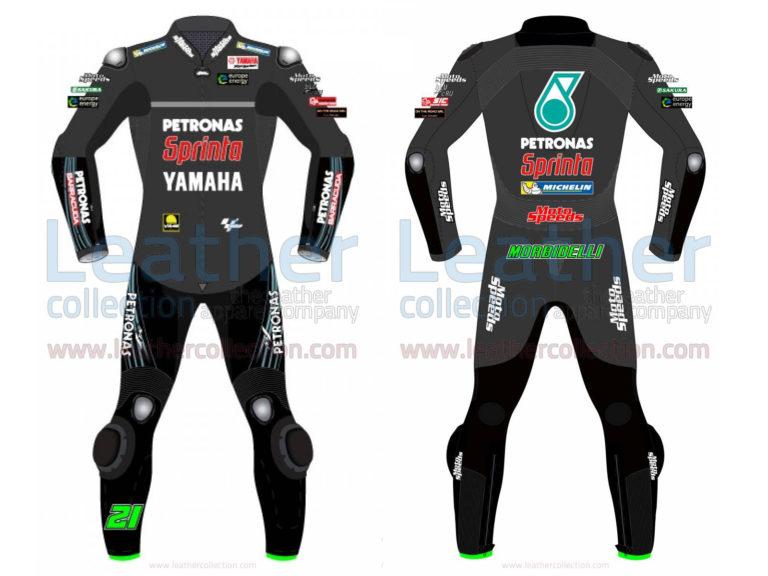 FRANCO MORBIDELLI PETRONAS YAMAHA MOTOGP 2019 RACE SUIT