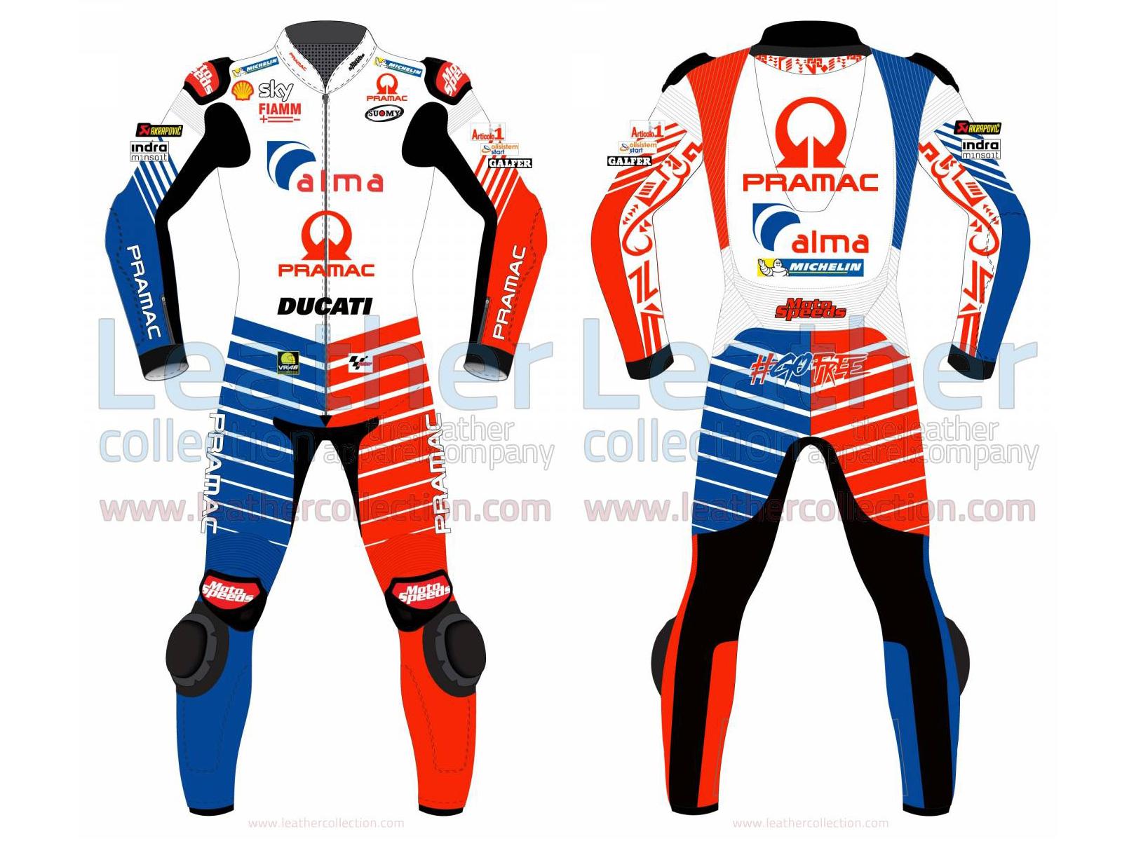 FRANCESCO BAGNAIA DUCATI MOTOGP 2019 RACING SUIT