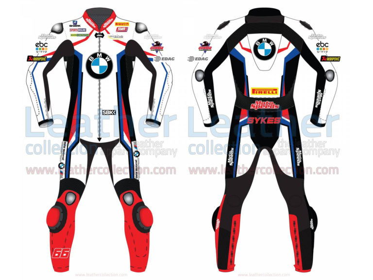 TOM SYKES BMW MOTORRAD WSBK 2019 LEATHER SUIT