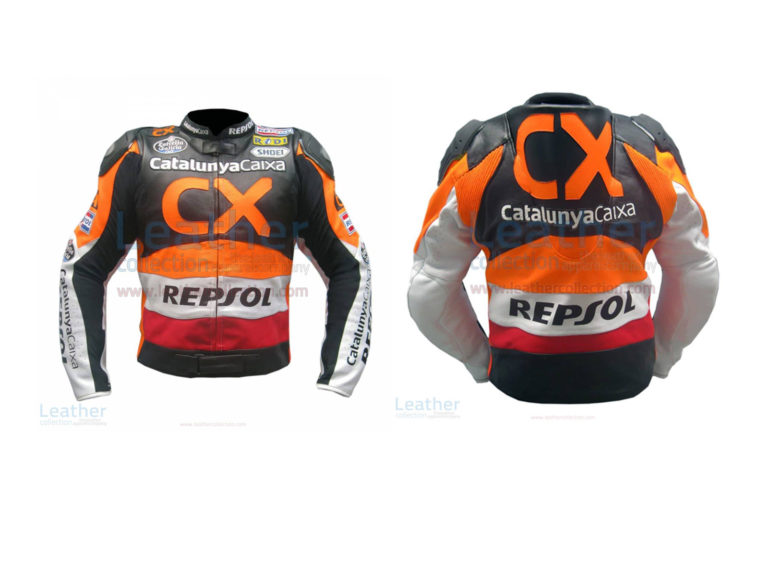 REPSOL CX LEATHER RACE JACKET