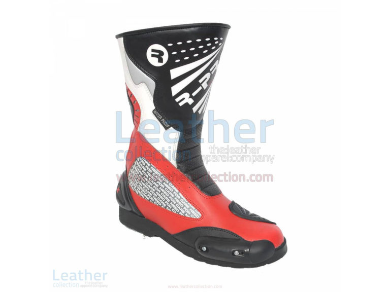 SHADOW MOTORBIKE RACING BOOTS