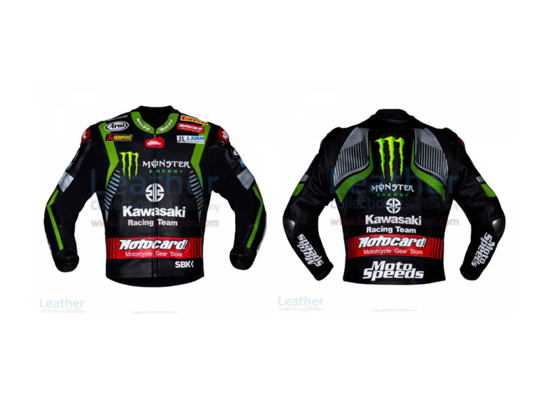 JONATHAN REA KAWASAKI WSBK 2018 LEATHER JACKET