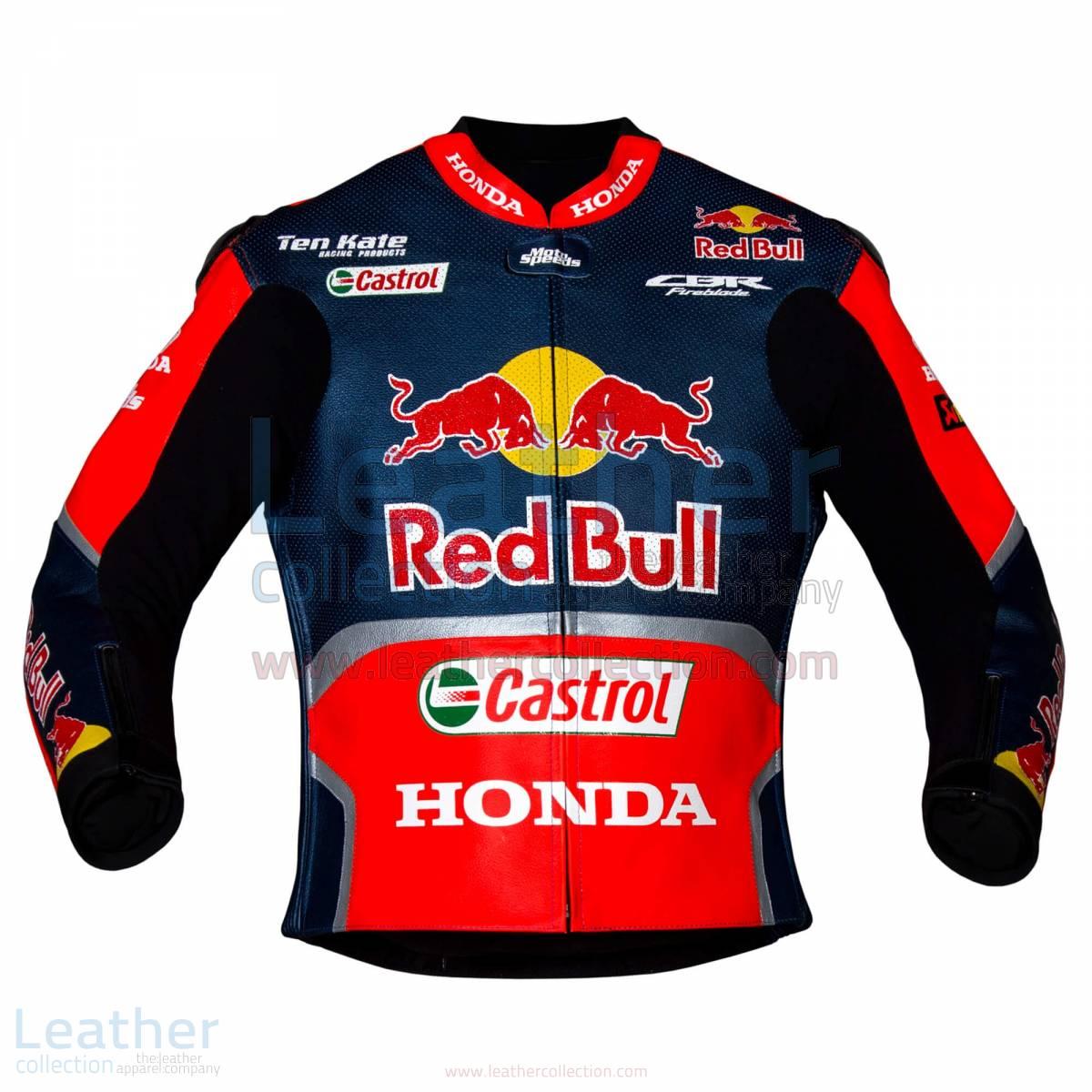 Nicky Hayden Red Bull Honda WSBK 2017 Race Jacket