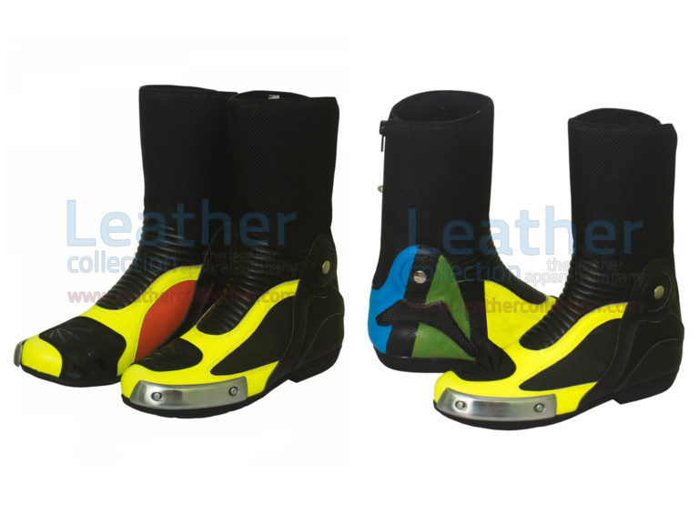 Valentino Rossi Ducati MotoGP 2012 Race Boots