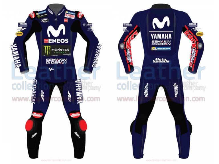 Maverick Vinales Movistar Yamaha MotoGP 2018 Suit