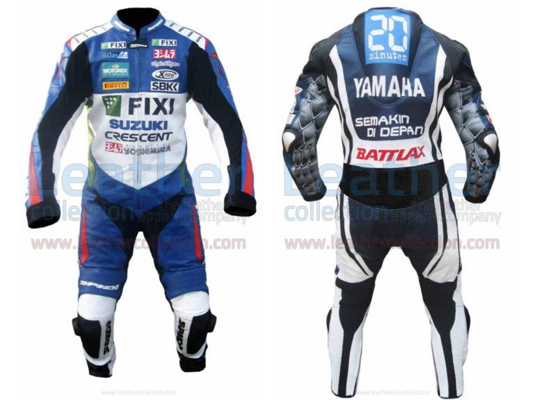 John Hopkins 2012 Suzuki Racing Suit
