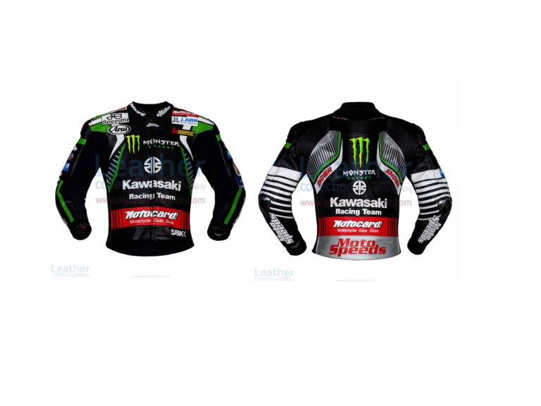 LEON HASLAM KAWASAKI MONSTER WSBK 2019 JACKET