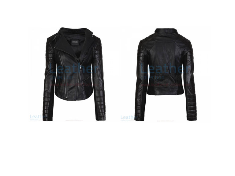 KELLY FASHION LADIES LEATHER JACKET