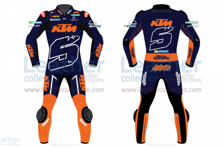 Johan Zarco Jerez Test 2018 Motorcycle Suit