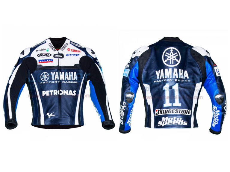 Ben Spies Yamaha 2011 MotoGP Leather Jacket