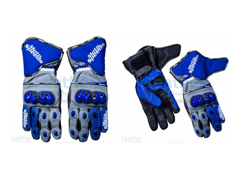 Andrea Dovizioso MotoGP 2018 Leather Gloves