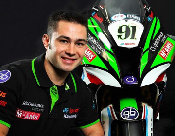 Leon Haslam Riders - Leon Haslam Britain's best known and successful motorcycle racer