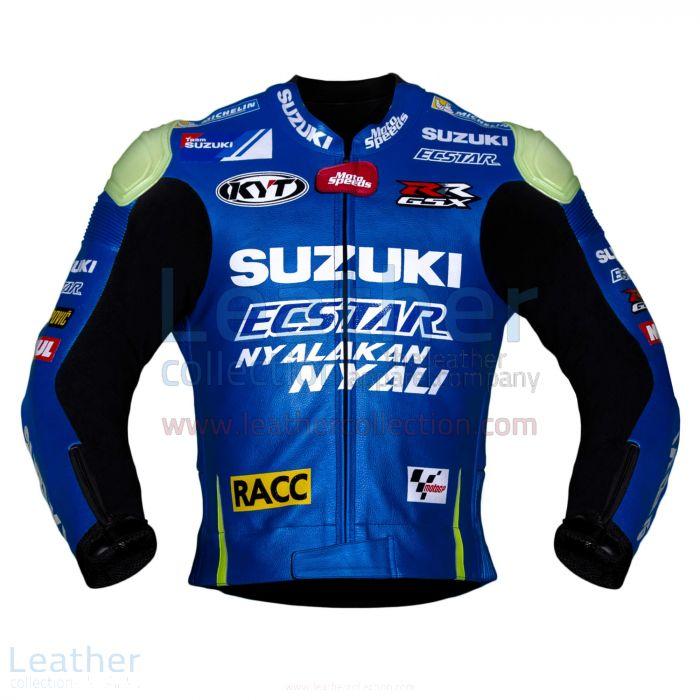 Aleix Espargaro Suzuki 2016 MotoGP Racing Jacket front view