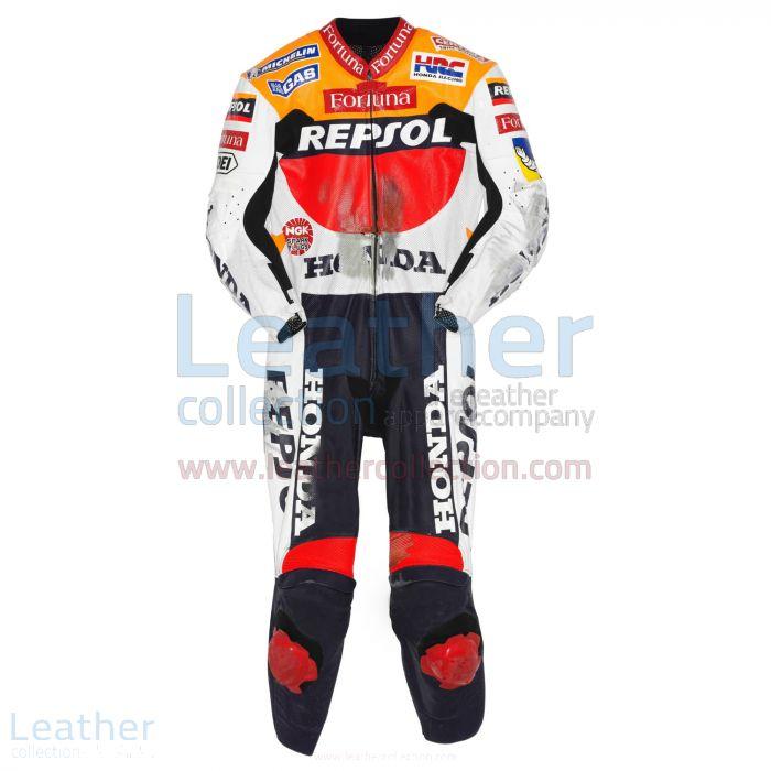 Alex Criville Repsol Honda GP 1999 Leathers front view