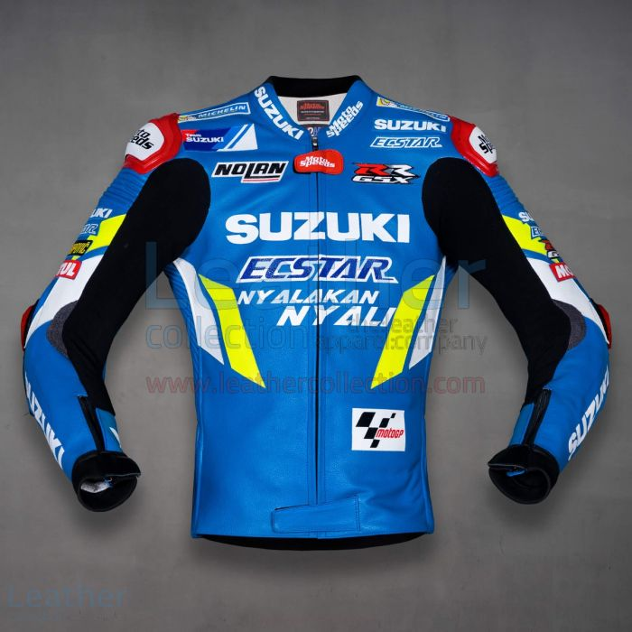 Alex Rins Suzuki MotoGP 2019 Racing Jacket front view