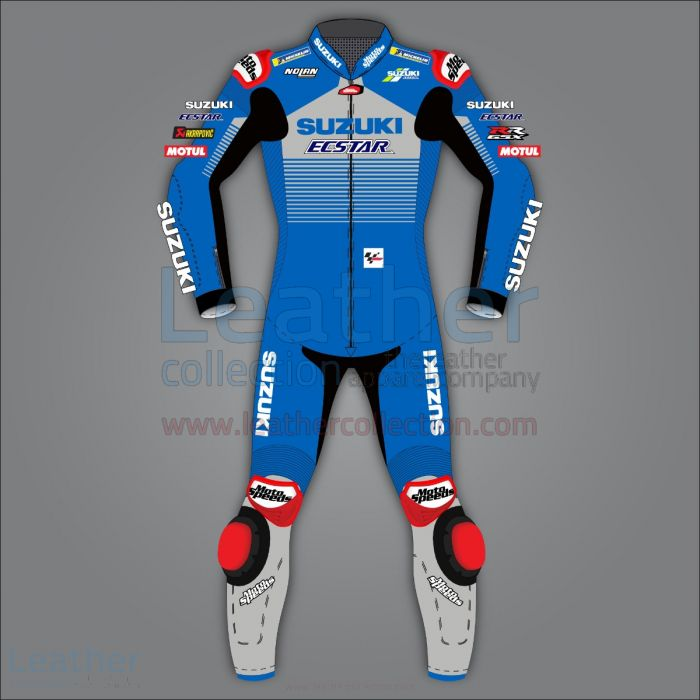 Alex Rins Suzuki Race Suit MotoGP 2020 front view