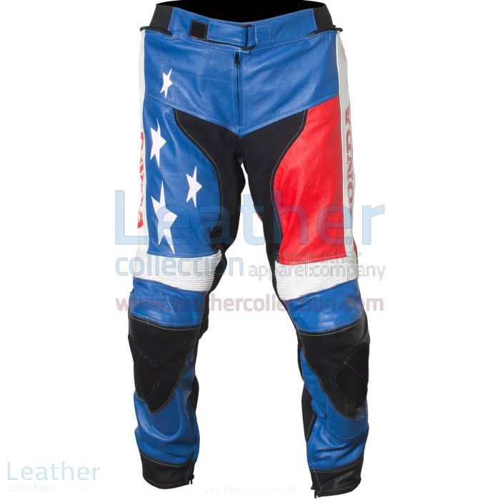 American Honda Moto2 Moriwaki MD600 Leather Pants front view