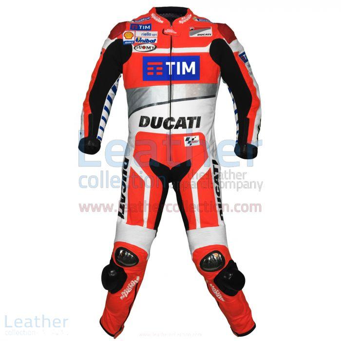 Andrea Dovizioso Ducati MotoGP 2016 Race Suit front view