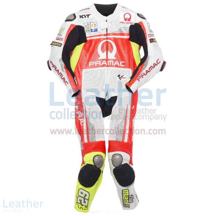 Andrea Iannone 2014 Motorbike Leather Suit front view