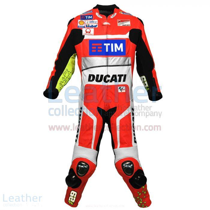 Andrea Iannone Ducati MotoGP 2016 Suit front view