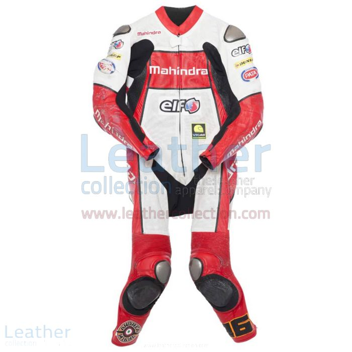 Andrea Migno 2014 CEV Racing Suit front view