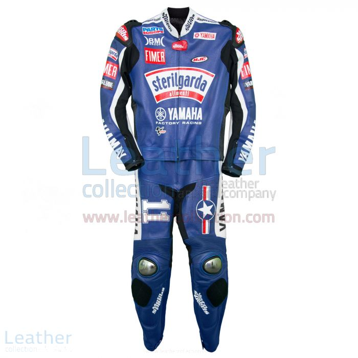 Ben Spies Sterilgarda Yamaha 2009 MotoGP Race Suit front view